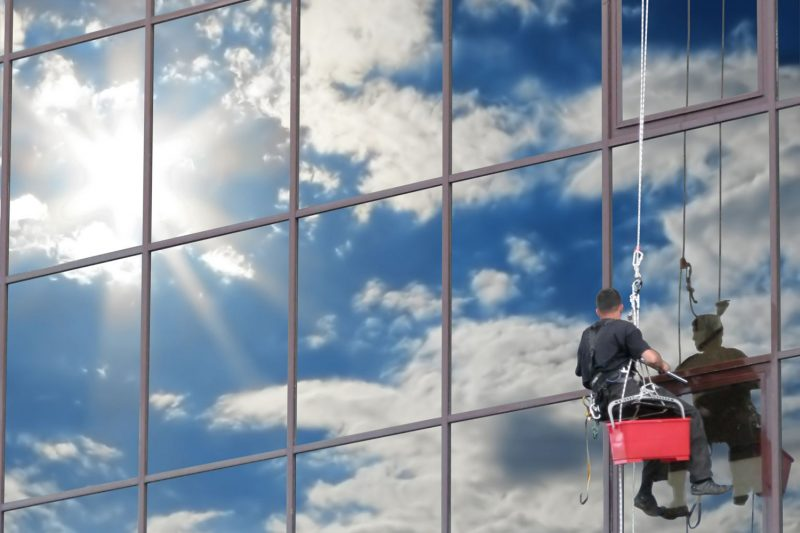 professional window cleaning solution